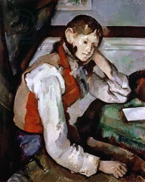 The Boy in the Red Waistcoat, 1888-90 (oil on canvas)