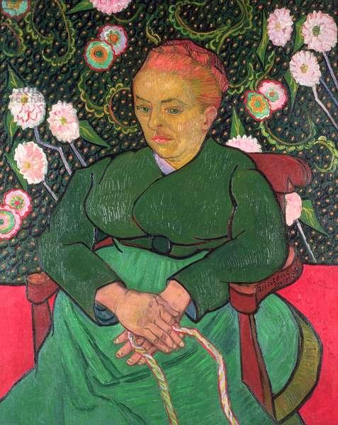 La Berceuse, January 1889 (oil on canvas)