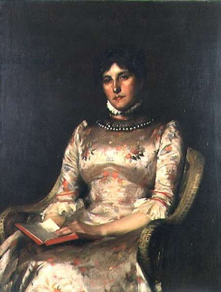 The Floral Dress, 1888