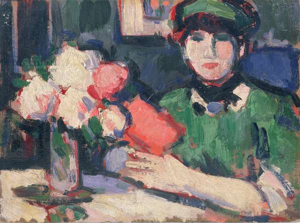 The Red Book, 1907 (oil on panel)