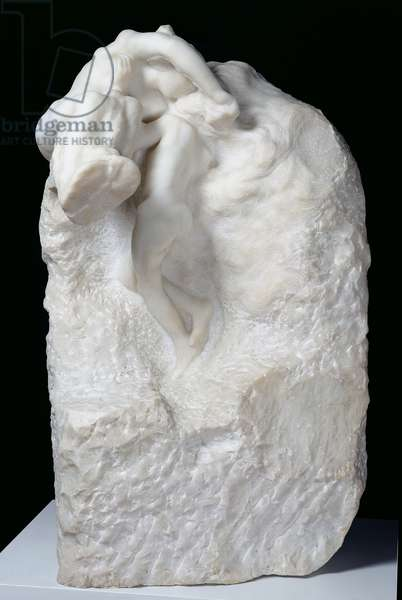The Earth and the Moon, 1899 (marble)