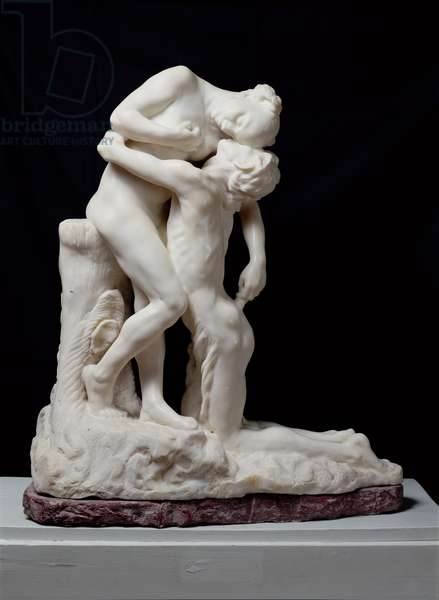 The Abandonment, or Vertumnus and Pomona, or Sakountala, 1905 (marble) (see also 82895)