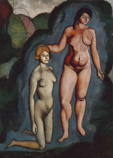 The Bush, 1910-11 (oil on canvas)