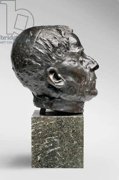 Pope Benedict XV, modeled 1915, cast by Alexis Rudier (1874-1952), 1926 (bronze)