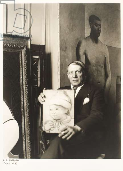 Pablo Picasso, 1933 (gelatin silver print)