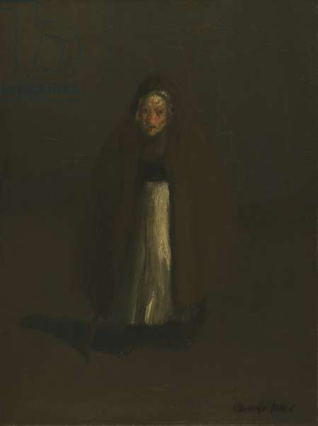 Old Beggar Woman, 1907 (oil on canvas)