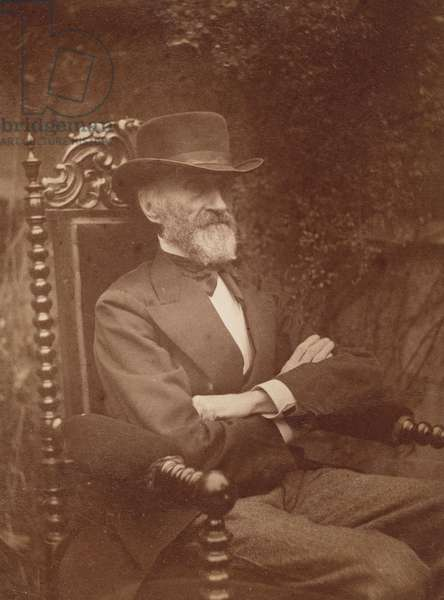 George W. Holmes, 1880s (albumen silver print)