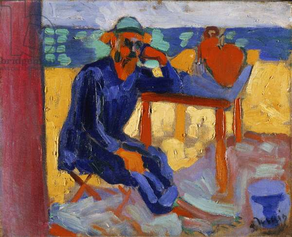 Portrait of Henri Matisse, c.1905 (oil on canvas)
