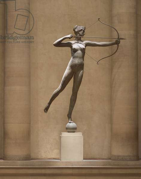 Diana, 1892-94 (copper sheets)