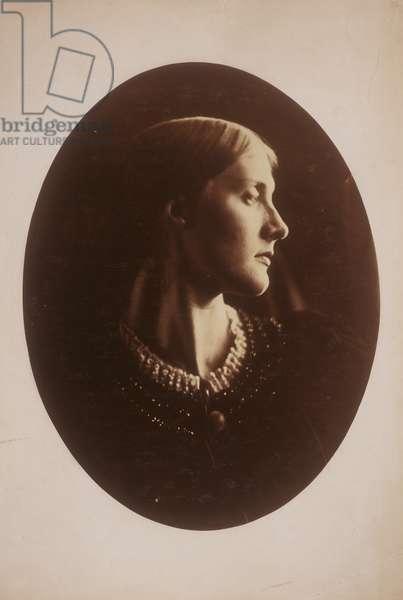 Mrs. Herbert Duckworth, 1867 (albumen silver print)