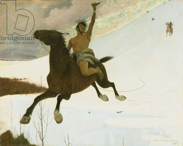 The Revenge, 1882 (oil on canvas)