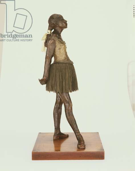 Little Dancer, Aged Fourteen, executed in wax 1878-81, cast in bronze after 1922 (bronze, tulle & silk)