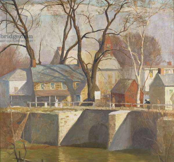 In New Hope, 1930 (oil on canvas)