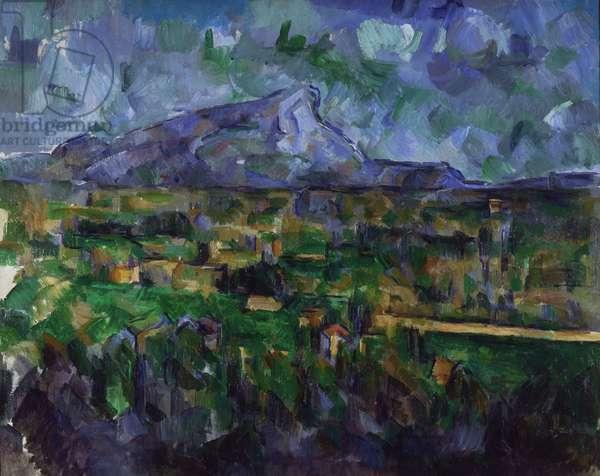 Mont Sainte-Victoire, c.1902-6 (oil on canvas)