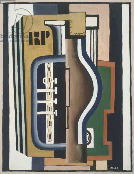 Accordion, 1926 (w/c over pencil on paper)