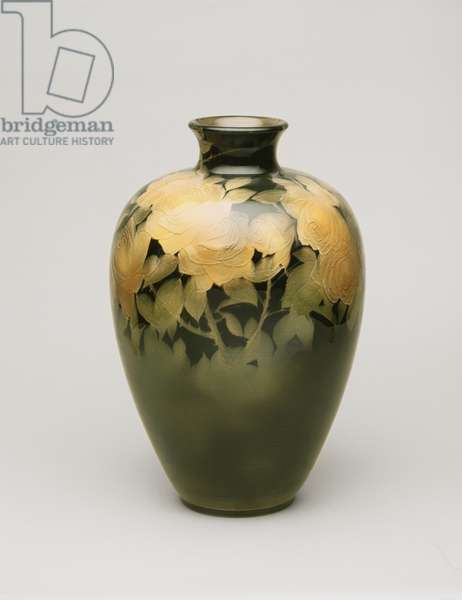 Vase, 1899 (glazed stoneware)