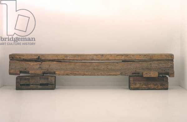 Bench, 1914-16 (oak)