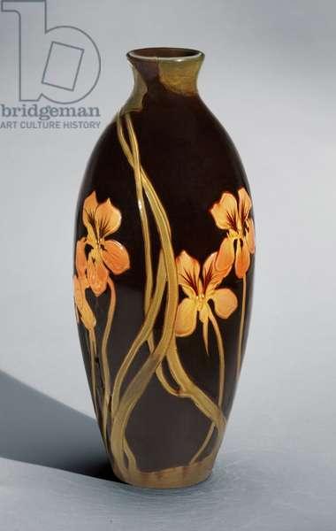 Vase, 1899 (stoneware (standard glaze line))