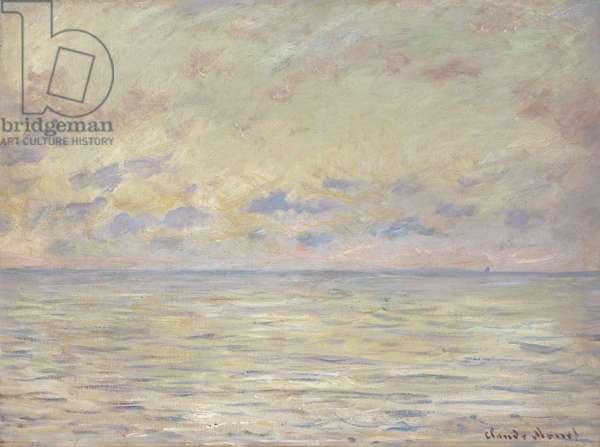 Marine near Etretat, 1882 (oil on canvas)
