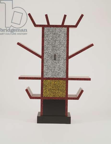 """Casablanca"" Sideboard Designed, 1981 (plastic laminate & wood)"
