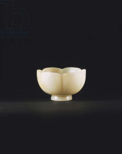 Cup in the Form of a Flower (nephrite)  88:Song Dynasty (960-1279);