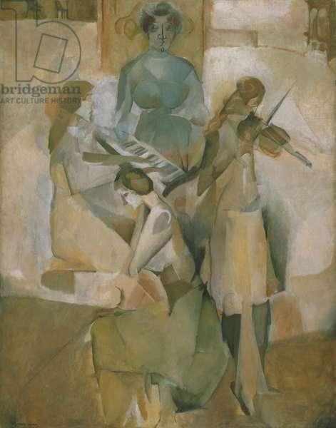 Sonata, 1911 (oil on canvas)