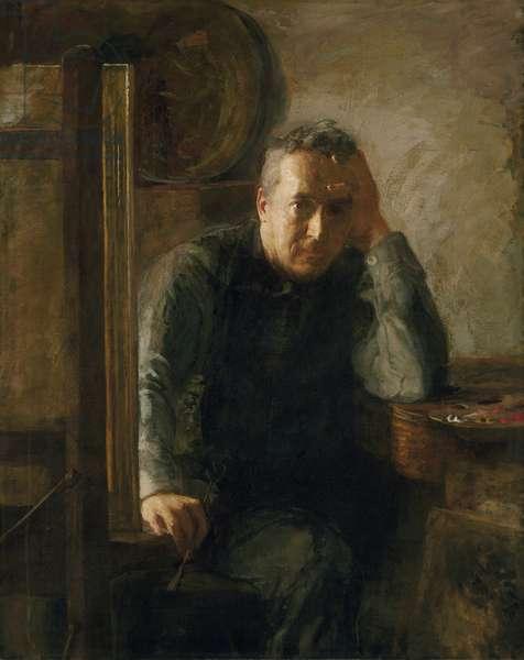 Portrait of Thomas Eakins, c.1920-25 (oil on canvas)