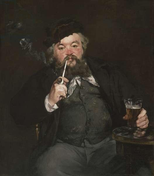 Le Bon Bock, 1873 (oil on canvas)