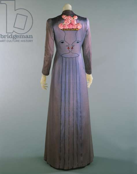 Coat, 1937 (rayon, silk & gilded metallic thread embroidery)