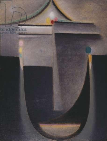 Looking Within: Night, 1923 (oil on cardboard)