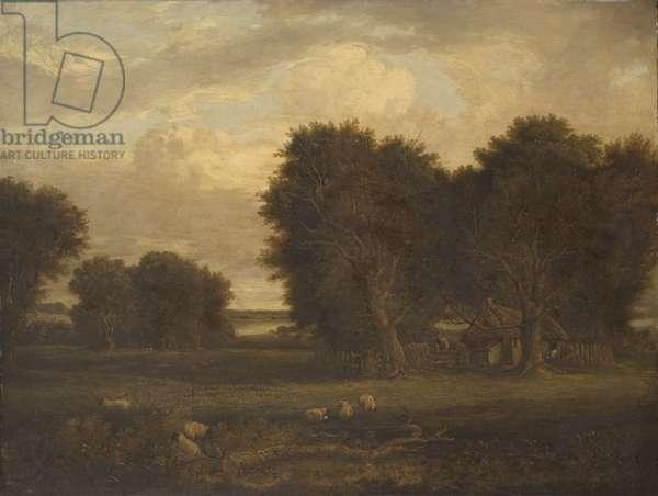 Landscape, c.1825-50 (oil on canvas)