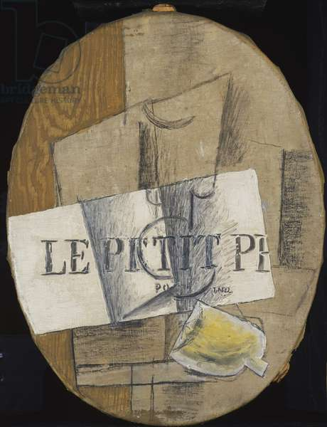 Still Life, 1913 (oil, graphite & charcoal on canvas)