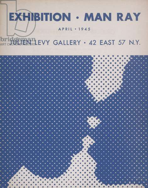 Brochure for the Julien Levy Gallery Exhibition Man Ray: Objects of My Affection (April 10-30), 1945 (photomechanical relief print)