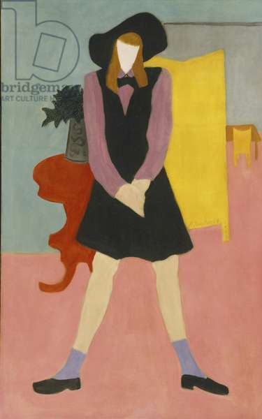 Black Jumper, 1944 (oil on canvas)