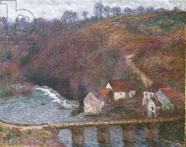 The Grande Creuse at Pont de Vervy, 1889 (oil on canvas)
