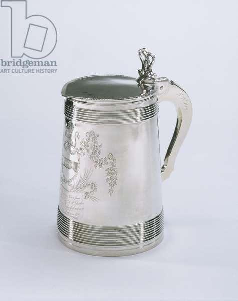 Tankard, 1788 (silver)