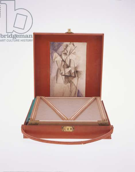 Box in a Valise (Boîte-en-Valise), from or by Marcel Duchamp or Rrose Sélavy (de ou par Marcel Duchamp ou Rrose Sélavy) 1935-41 (mixed media)