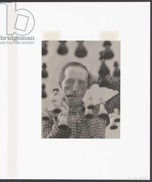 Marcel Duchamp, 1955 (gelatin silver print)