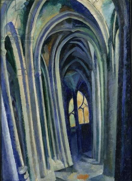 Saint-Séverin, 1909 (oil on canvas)
