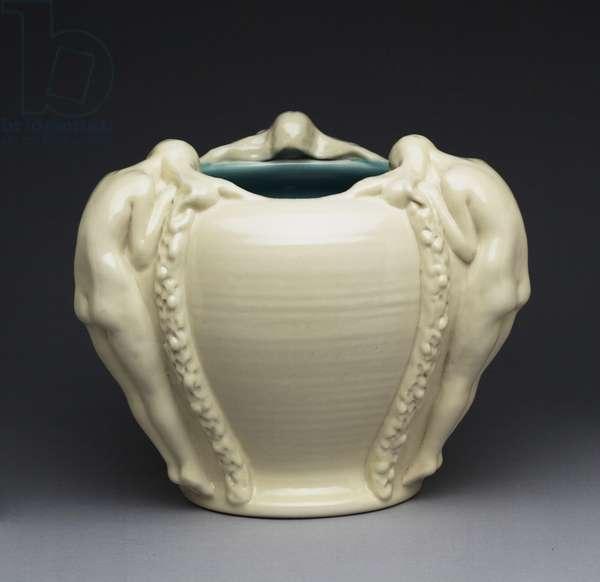 Bowl, 1917 (porcelain (ivory jewel porcelain glaze line))