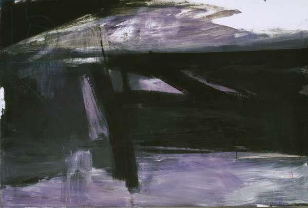 Torches Mauve, 1960 (oil on canvas)
