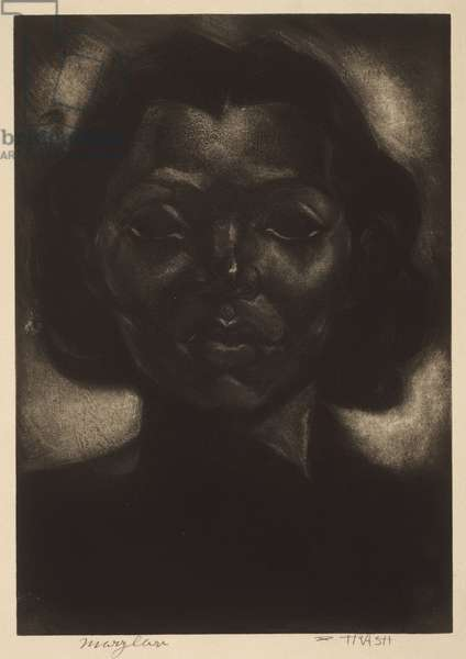 Mary Lou (or Marylou) c.1939-40 (mezzotint over etching)