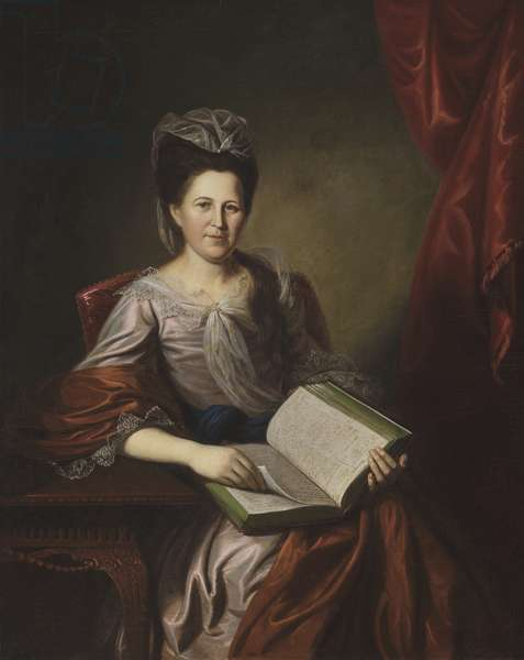 Margaret Hodge, Mrs. John B. Bayard, 1780 (oil on canvas)
