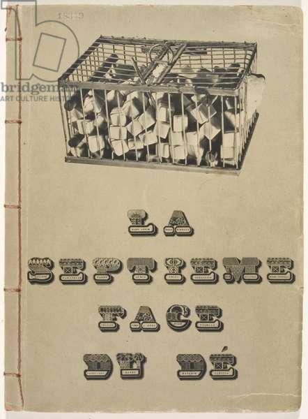 'Why Not Sneeze Rose Sélavy?' La Septième Face du Dé: Poèmes - Découpages, 1936 (litho)