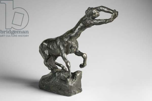 The Centauress, modeled c.1887, cast by Alexis Rudier (1874-1952), 1925 (bronze)