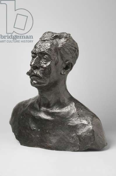Étienne Clémentel, modeled 1916, cast by Alexis Rudier (1874-1952), before 1952 (bronze)