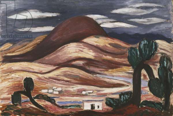 New Mexico Landscape, 1919 (oil on canvas)