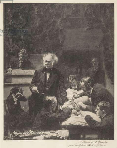 Portrait of Dr. Samuel D. Gross, 1875 (collotype)