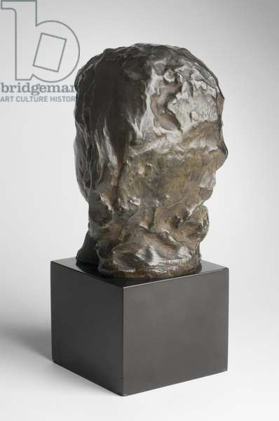 Head of Crying Girl, modeled 1885-90, cast by Alexis Rudier (1874-1952), 1925 (bronze)