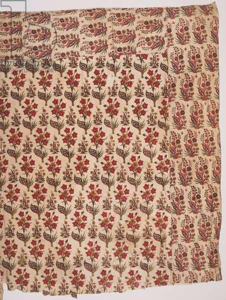 Summer Carpet or Floor Spread, c.1690 (painted cotton)